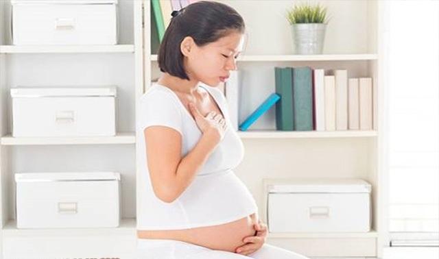 Làm gì khi bị đầy bụng trong lúc mang thai? 1