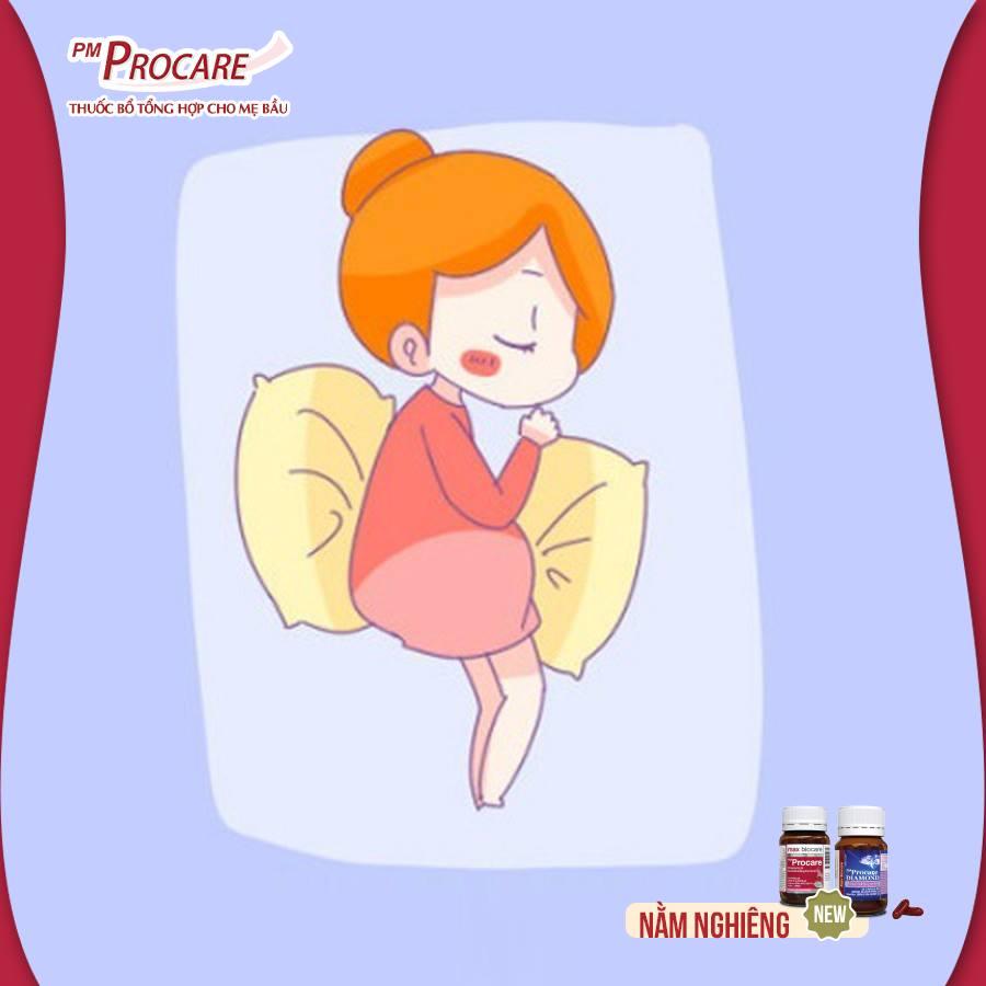 2. Tư thế nằm tốt nhất để các mẹ bầu có một giấc ngủ ngon khi mang thai 1