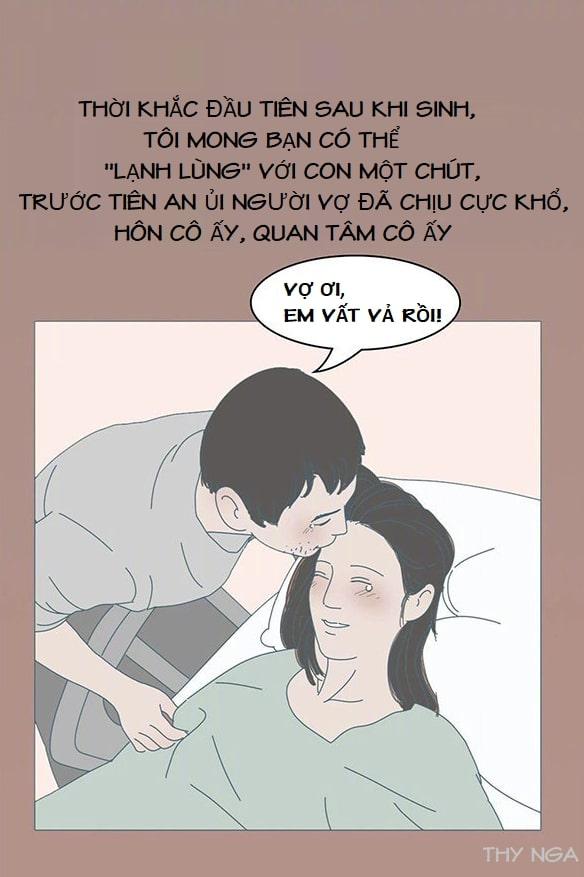 Bộ ảnh mô tả chân thật cảm giác đau trong quá sinh con - Bố hãy xem để hiểu nỗi vất vả của mẹ hơn! 46
