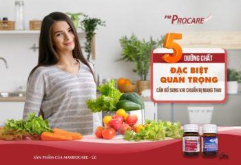 5 dưỡng chất đặc biệt quan trọng cần bổ sung khi chuẩn bị mang thai