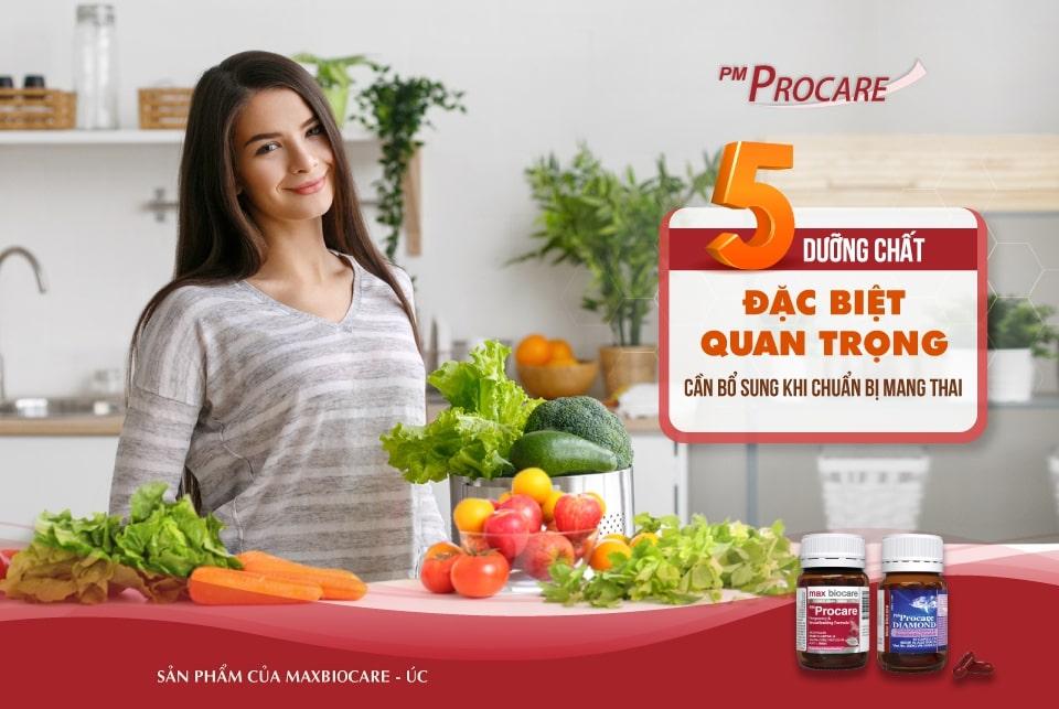 5 dưỡng chất đặc biệt quan trọng cần bổ sung khi chuẩn bị mang thai 1