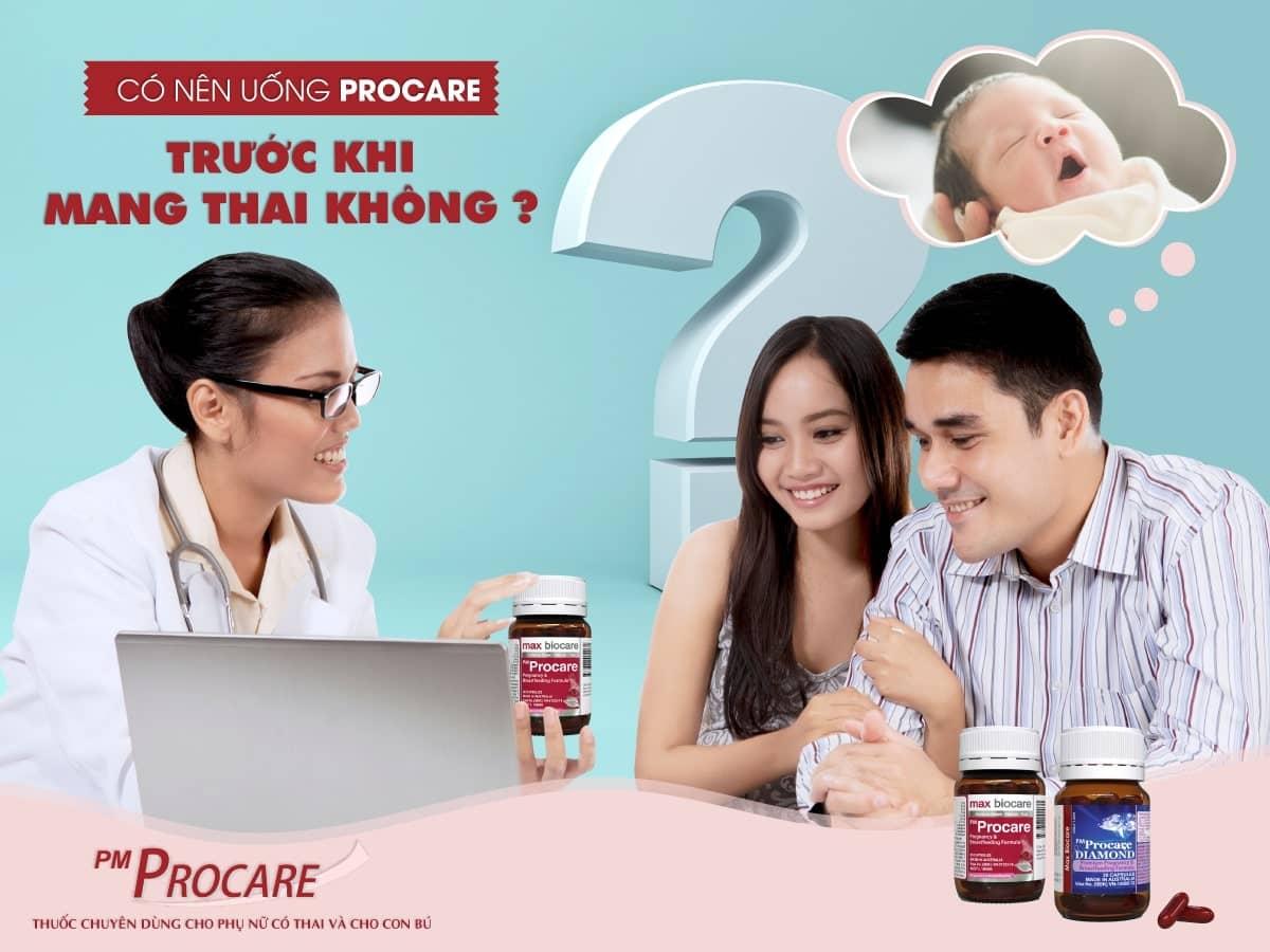 Có nên uống procare trước khi mang thai không ? 1