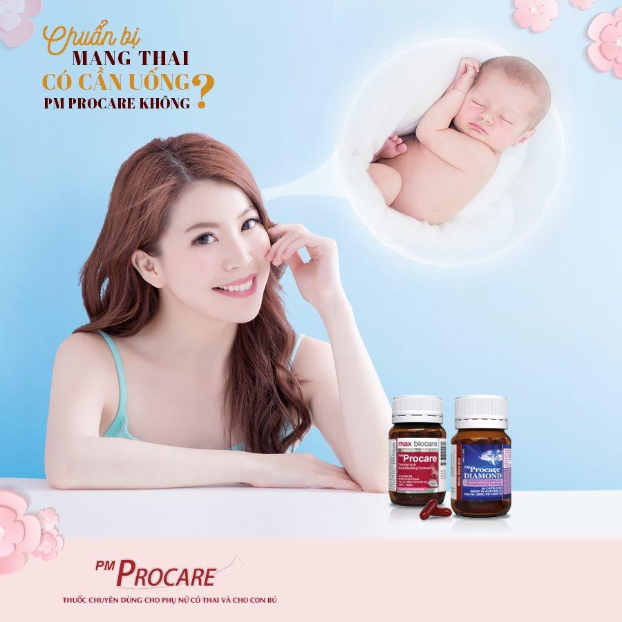 Chuẩn bị mang thai có cần uống PM Procare không? 1