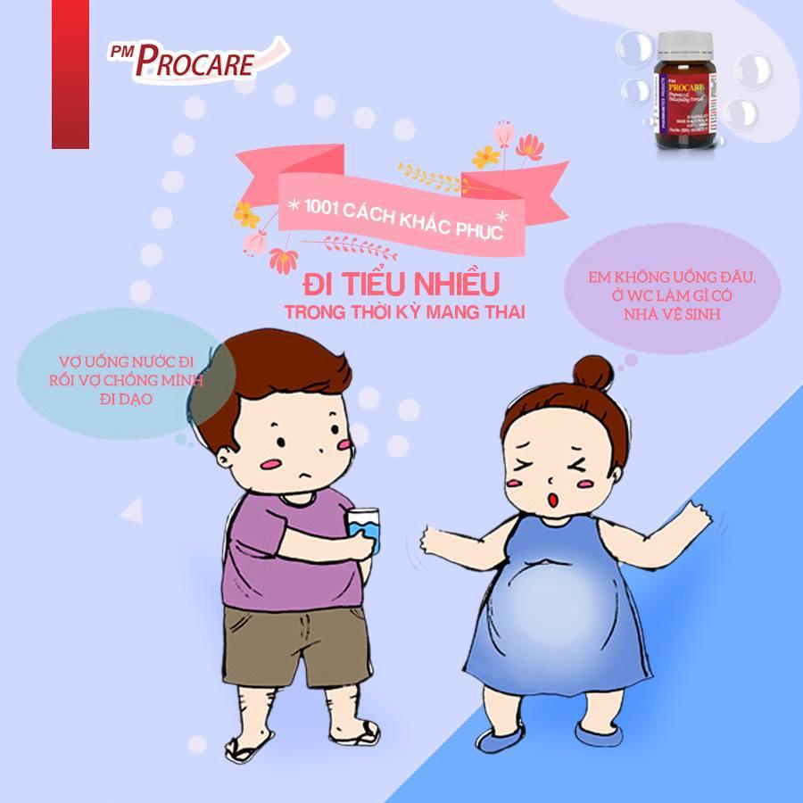 Cách khắc phục đi tiểu nhiều trong thời kỳ mang thai 1