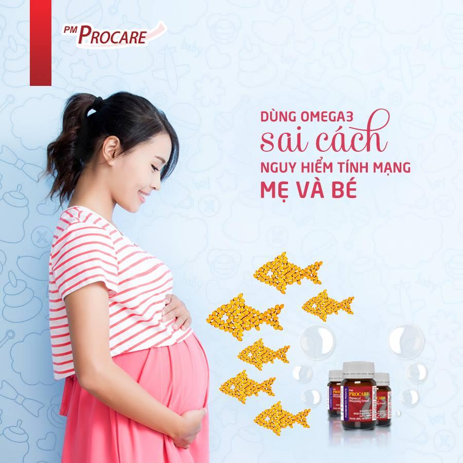 Dùng omega- 3 sai cách - nguy hiểm tính mạng mẹ và bé 1